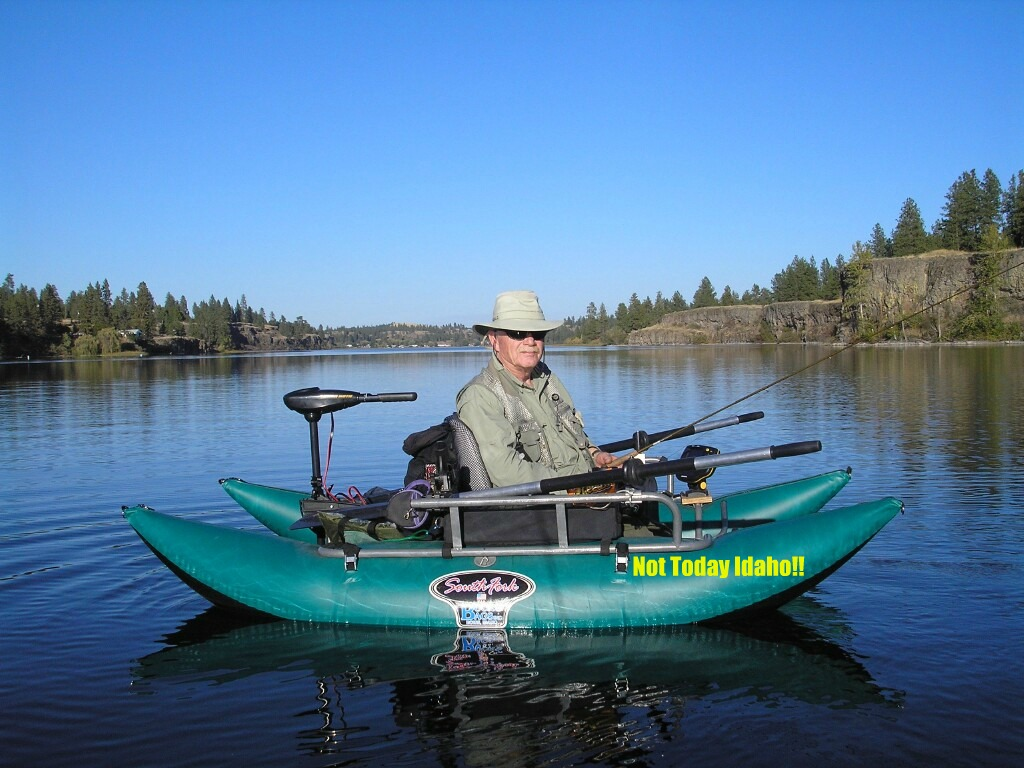 License for a south fork pontoon boat northwest for Fishing license idaho